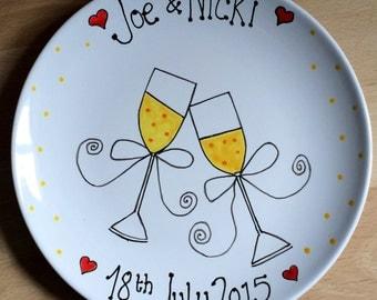 Wedding Day Memory Plate