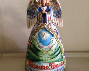 Jim Shore Collectible - Peaceful Journey Angel  4003513