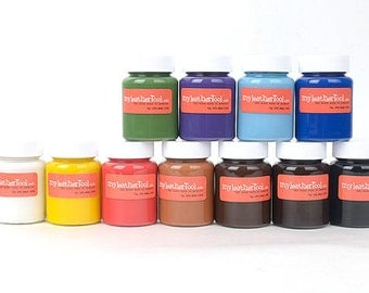 Matte Basic Color-Leather edge paint Section Lacquers offers a pleasing finish to the edges,Leather craft tool(Self Produced)-MLT-333