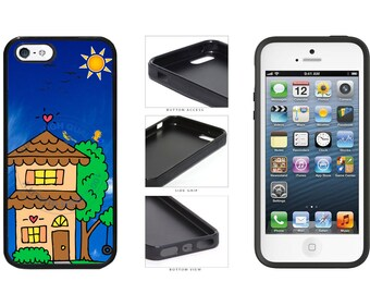 Home Sweet Home Phone Case - iPhone 4 4s 5 5s 5c 6 6 Plus 7 iPod Touch 5
