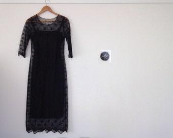 Daisy Sheer Dress s/m 10