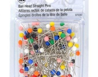 """1 1/2"""" Singer Ball Head Straight Pins - 07030"""