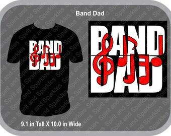 Band Dad T-Shirt, Tank or Hoodie