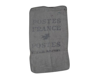 Authentic Vintage France Postes Mail Bag Sack