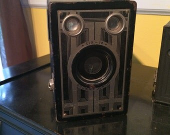 Old vintage brownie junior camera