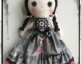 Gothic Rainbow Lane Doll, Halloween