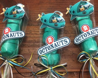 Octonauts Marshmallow Party Favors
