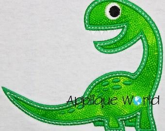 Brontosaurus Applique Embroidery