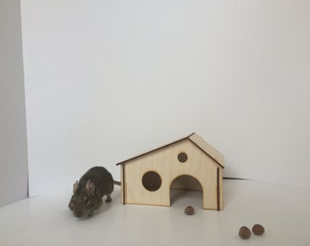 pet house - pet home - small house - hamster house - hamsters house - hamsters houses - chinchillas houses - chinchillas house