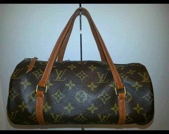 Louis Vuitton Monogram Papillon 26 barrel Bag LV Handbag