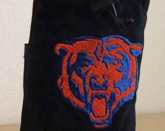 MINI chalk bag with bear