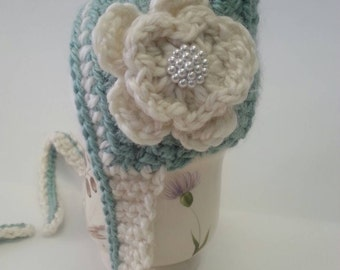 Adorable Newborn Crocheted Pixie