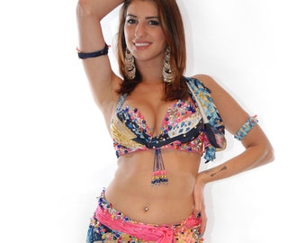 A Touch of Pink Belly Dance Outfit