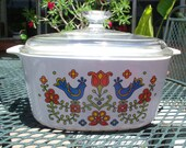 Corning Ware Country Festival A-3-B 3 Quart Casserole with Lid