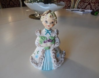 VINTAGE GIRL FIGURINE
