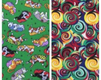 Fleece Dog/Cat Blanket(D155,156)