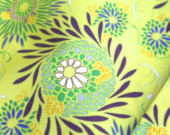 Art Gallery Fabrics Color Splash Collection Yellow Floret