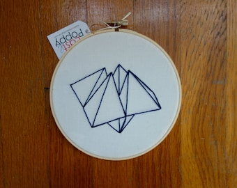 Cootie Catcher Embroidery Art