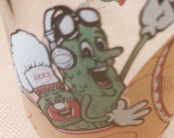 Bicks adds BBQ fun advertising glass