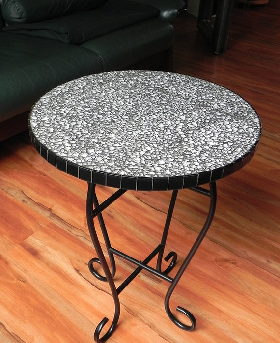 Soporte de mesa mosaico de cristal mesa auxiliar por NewArtsonline