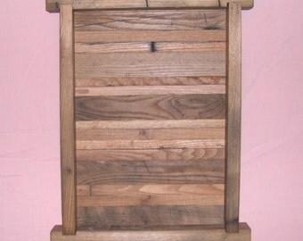 Wormy Chestnut shadow box #2