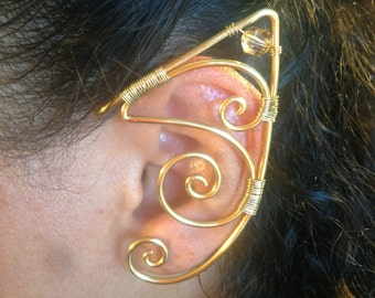 Fashionable Fantasy Earcuffs (Elf, Cat, Pixie, Fairy, Genie, Spock) Nickel and Piercing Free!