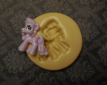 My Little Pony, Mold, Silicone Mold, Molds, Baking Molds, Jewelry Molds, Cake Molds, Cake Pops, Charms, Jewelry, Gifts, Putty, Cupcake Molds