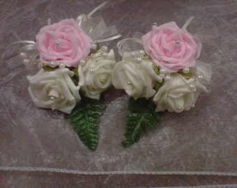 wedding corsages x2