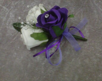 wedding buttoniere packsge 30 buttonholes ,3 double buttonholes ,2 mother of the bride corsage