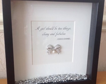 Classy & Fabulous Coco Chanel Print
