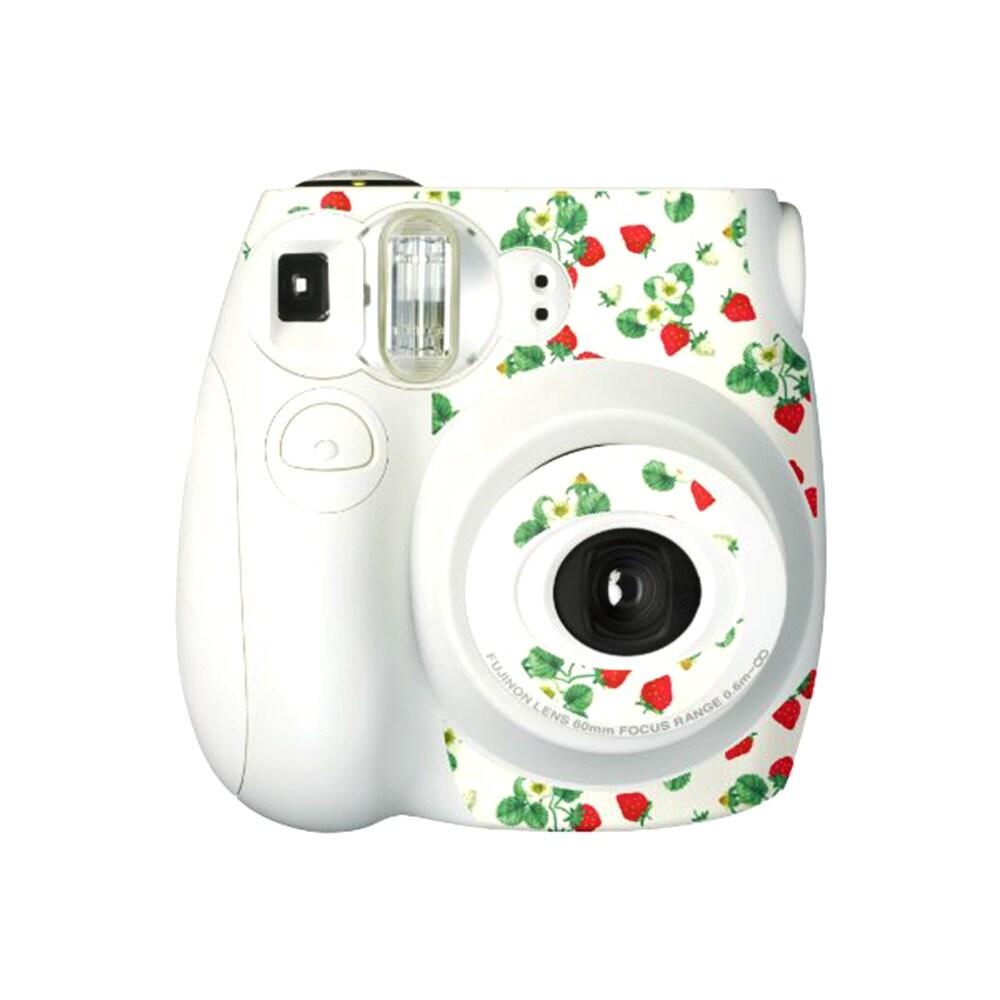 fujifilm instax mini 7s camera sticker decoration white. Black Bedroom Furniture Sets. Home Design Ideas