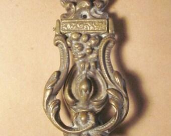 Vintage Heavy Duty Solid Bronze Door knocker - Hardware