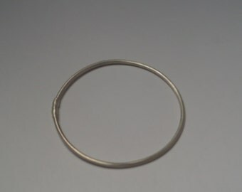 Girls Sterling Silver Bracelet/ Bangle- Extra Small