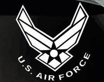 US Air Force Vinyl Window Decal