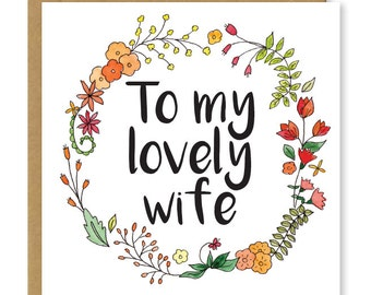 wife birthday card  etsy, Birthday card