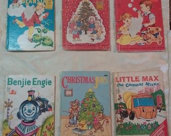Vintage lot of childrens books/Elf Books