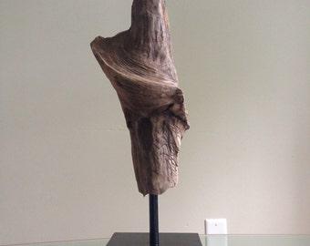 Driftwood Sculpture. Handmade from Reclaimed Driftwood.