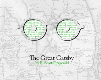 The Great Gatsby Poster Print