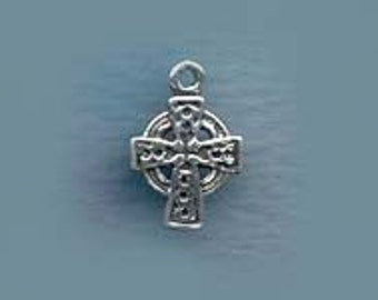 Dainty Celtic Cross Jewelry Sterling Silver Charm celcr023
