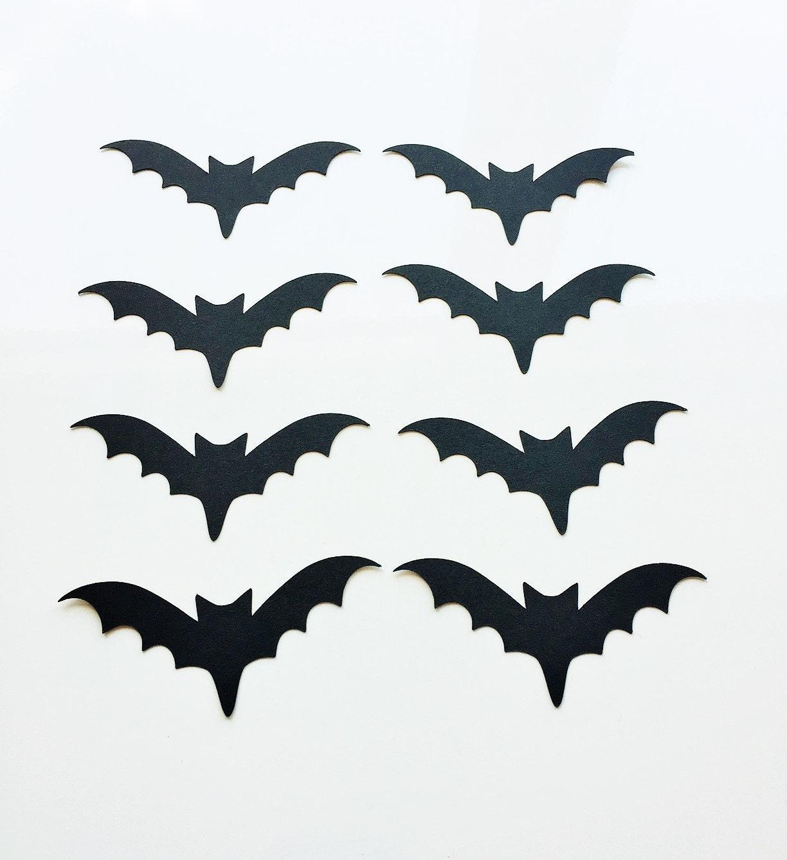 Bat Halloween Confetti (3