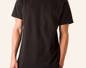 Men's Tall Extended Tee Curved Hem (Available In 3 Colors)