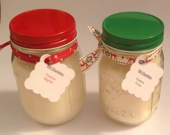 Christmas is coming...Ball Mason jars....Christmas scented candles. The perfect Christmas gift...