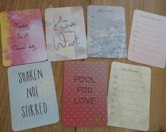 7 journaling cards large