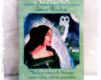 Intuitive Reading Goddess Oracle Card  - Connect With Your Inner Goddess