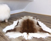 Exclusive Genuine Natural rare Reindeer Skin - Rug, Hide, Pelt,  Extra Large XXL GIANT