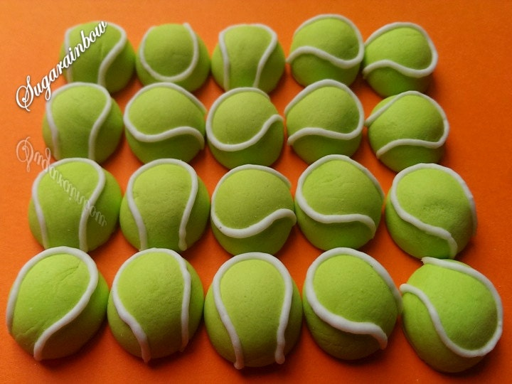 Tennis Ball Cake Decorations