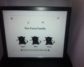 DepictureIt Personalised Pets Framed Button Picture