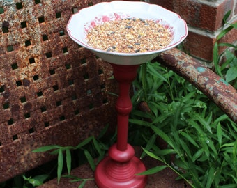 Shabby Chic Country Living Repurposed Bird Feeder