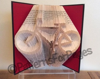 Book folding pattern for a BICYCLE (Bike)