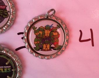 TMNT Bottlecap Necklaces-set of 10